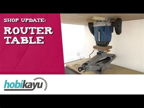 Router Krisbow Shop Update Membuat Meja Router Router Table