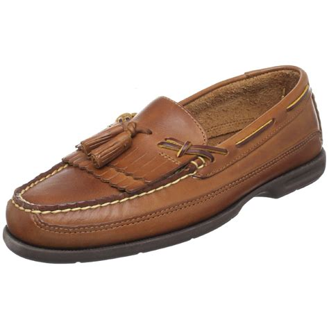 mens loafers tassels sperry top sider mens tremont kiltie tassel loafer in