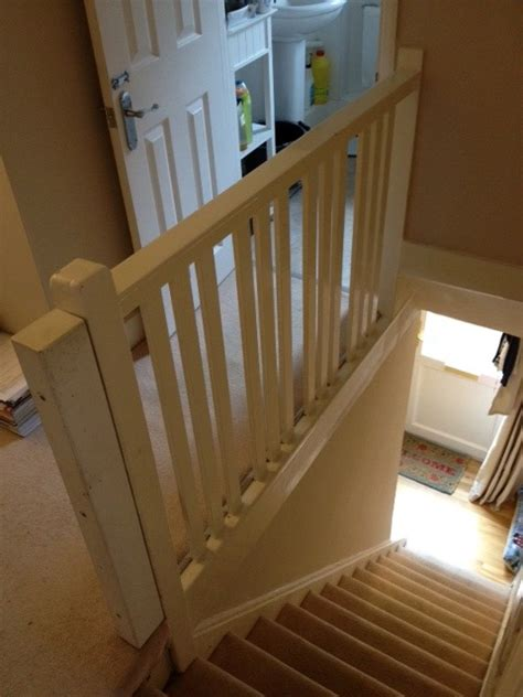 fitting banister spindles fitting new banister and spindles carpentry joinery
