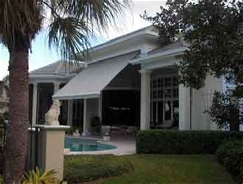 Awnings Fort Lauderdale fort lauderdale awnings retractable rollout awning clearview of broward florida
