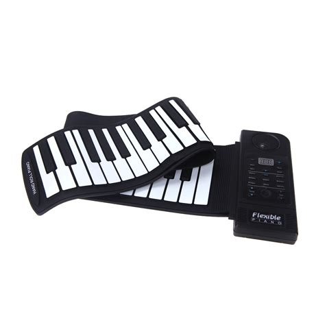 Sale Piano Gulung Silicon Roll Up Piano piano 61 electronic piano keyboard silicon