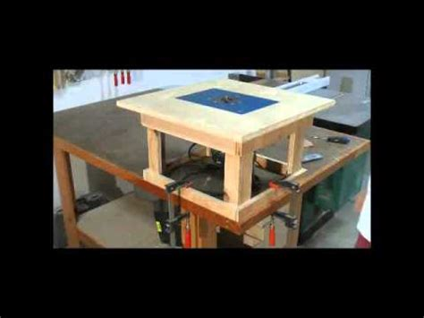 Simple Router Table Plans by Woodworking Projects Simple Mobile Router Table Cool