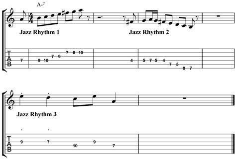 jazz rhythm how to practice beginner jazz improvisation jamie holroyd guitar jamie
