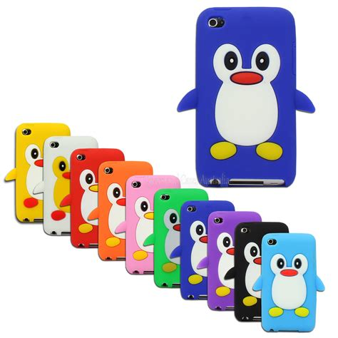 Soft Ipod Touch 4 soft penguin for apple ipod touch 4 4th 4g