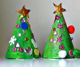 christmas crafts for kids christmas tree hat craft