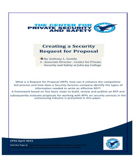 security company template sle service letter 9 exles in word pdf