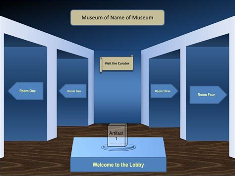 museum display card template warneka museum template