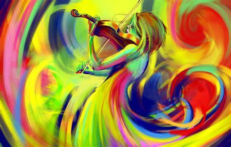 imagenes abstractas con autor violin drawing wallpaper