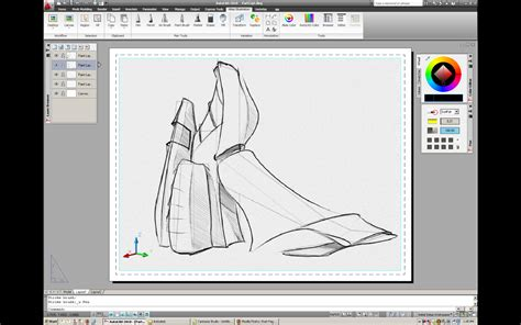 sketchbook autodesk autodesk alias sketch for autocad technology preview
