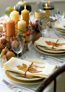 34 natural thanksgiving table settings digsdigs