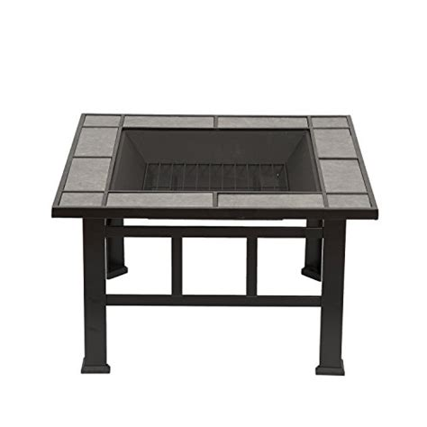 Best Price Outdoor Pit Outsunny Outdoor Mission Style Square Backyard Patio