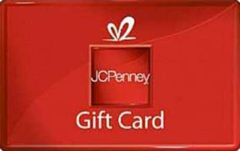 Jc Penny Gift Card - run get a 100 jcpenney gift card for only 80