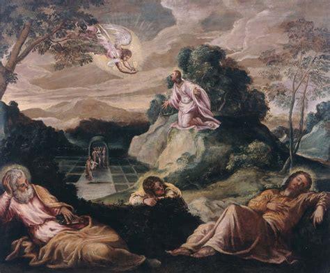 imagenes de jesus orando en el huerto para colorear file tintoretto la oraci 243 n en el huerto de getsemani jpg