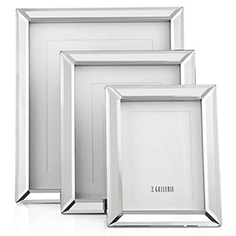 Mirrored Home Decor Broadway Mirrored Picture Frame Z Gallerie