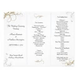 wedding program design template event program half fold templates invitations ideas