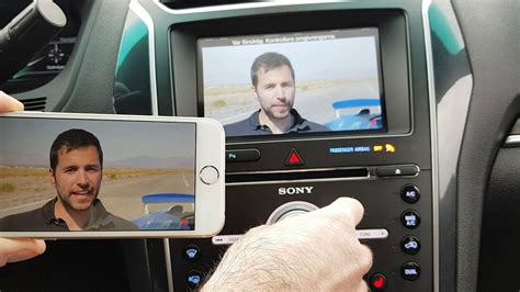 ford sync   wireless phone mirroring kit iphone