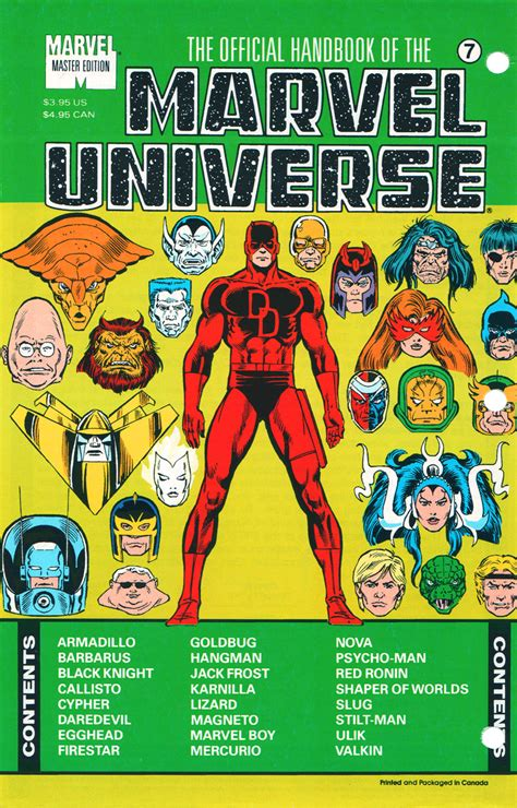 history of the universe volumes 1 7 official handbook of the marvel universe master edition