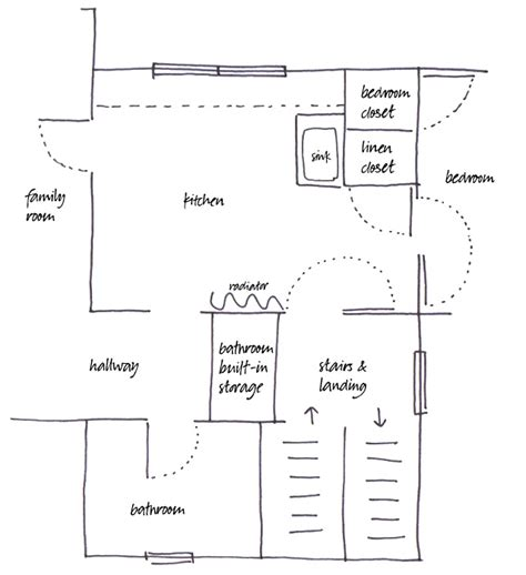 house plans with kitchen in middle floor plans with kitchen in middle of house
