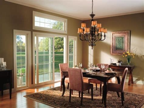 Living Room Dining Room Doors Vinyl Sliding Patio Door Contemporary Dining Room