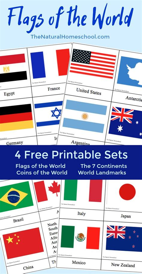 flags of the world for print country flags of the world a fun geography lesson 4 free