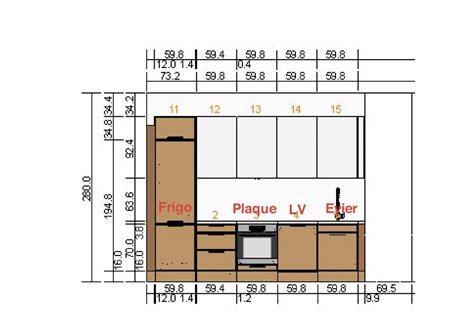 plan electrique cuisine normes 233 lectriques pour cuisine dans un appartement en