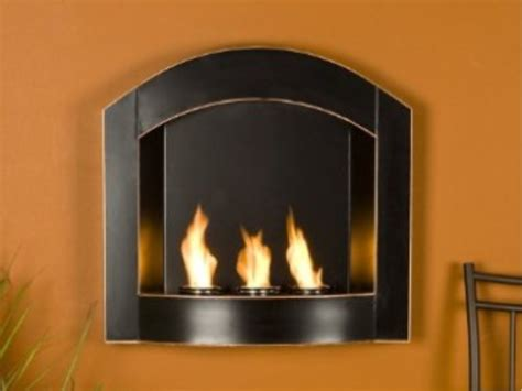 eco friendly ethanol ventless fireplace living small