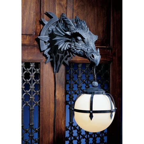 Gargoyle Wall Sconce Lighting Home Cathedral Style Furnishings For Home And Office