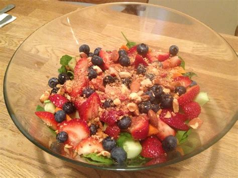 Carrot And Cabbage Detox Salad by Detox Salad Blueberries Strawberries Almonds Carrots