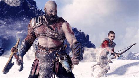 kratos  atreus god  war  hd  wallpapers