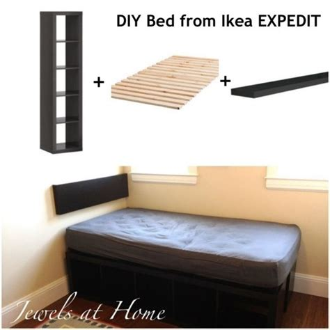 diy ikea bed awesome ikea hack diy compact bed with tons of storage