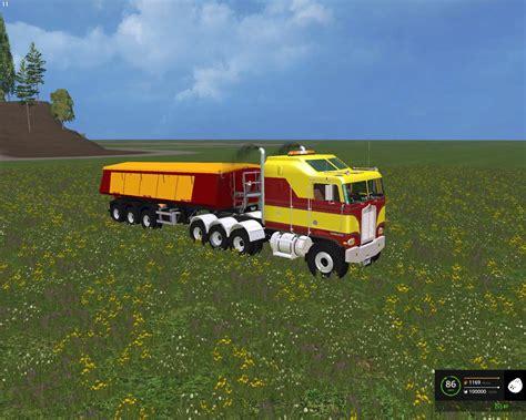 kenworth  cabover   fs  farming simulator   mod