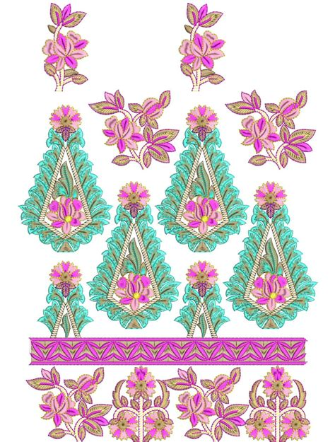 embroidery design for suits embdesigntube 31st dec combo gift punjabi embroidered