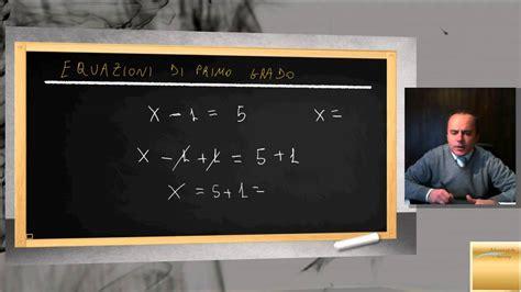 test equazioni di primo grado equazioni di primo grado flv