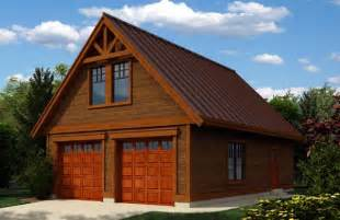 Cabin Garage Plans by Garage Plan 76019 At Familyhomeplans Com