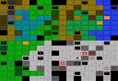 legend of zelda map dungeon 1 legend of zelda maps ian albert com