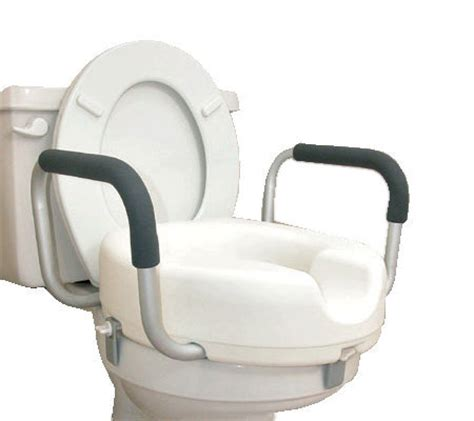 raised toilet seat with arms and legs dmi raised toilet seat with arms v109010 qvc