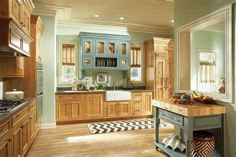 kitchen cabinets knotty alder and piccadilly maple islander for the home