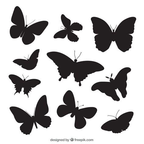imagenes mariposas siluetas pack con variedad de siluetas de mariposas descargar