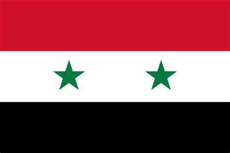 flag  syria image  meaning syrian flag country flags