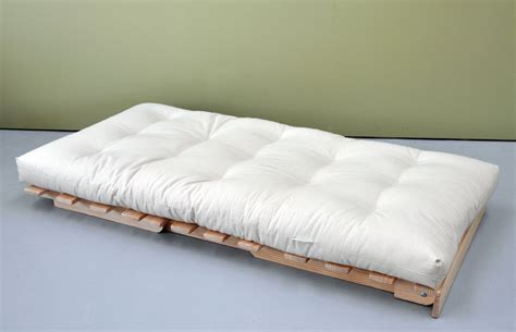Futon Mattress by Organic Cover Cotton Wool Futon Mattress Innature
