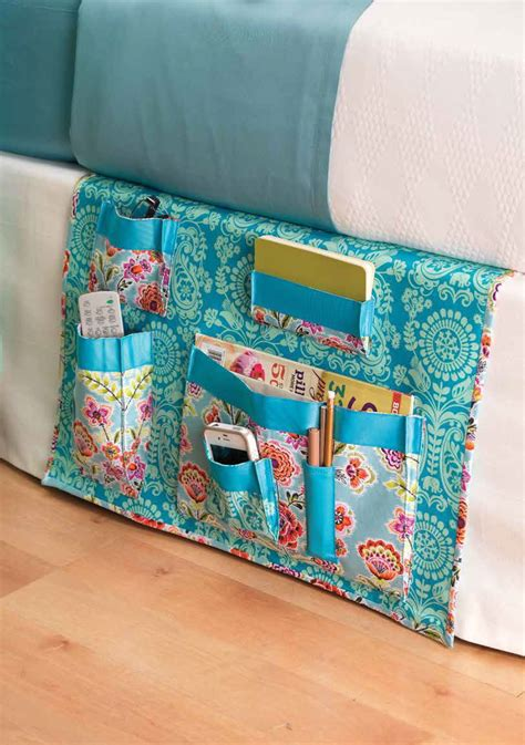 bed caddy bedside caddy sewing pattern