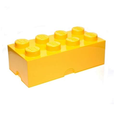 Bed Linen Measurements - lego brick 8 knob yellow storage box brand new gift ebay