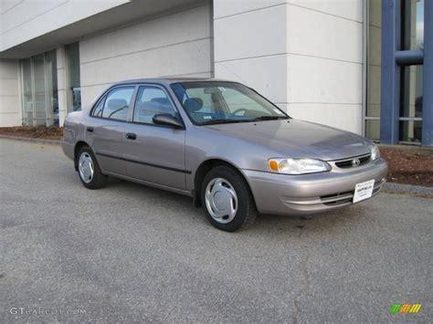 2000 Toyota Corolla Ce 2000 Sandrift Metallic Toyota Corolla Ce 7023509