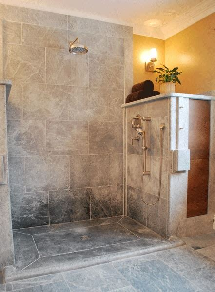 soapstone bathtub soapstone curbless shower for the home pinterest