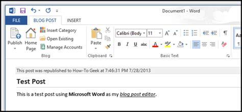 cara membuat artikel menggunakan microsoft word cara membuat posting blog menggunakan microsoft word 2013
