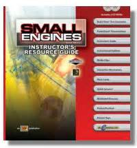Small Engines 3e Textbook Workbook Amp Instructor S Guide