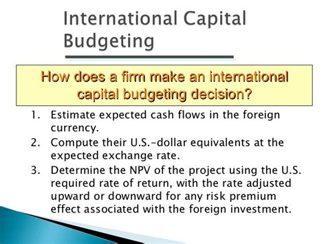 Mba Financial Management Ppt by International Financial Management Ppt Bec Doms Bagalkot
