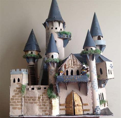 How To Make A Paper Castle Easy - best 25 cardboard castle ideas on cardboard