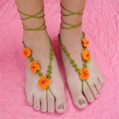 barefoot sandals pattern crochet 20 barefoot crochet sandals pattern ideas diy to make