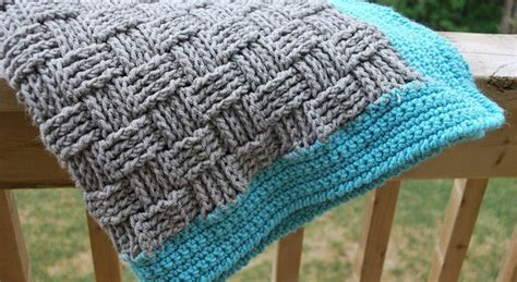 free beginner double basket weave face cloth knitting pattern free pattern super easy basketweave baby blanket knit